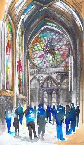 Lily Forwood, Sainte-Chapelle, Paris