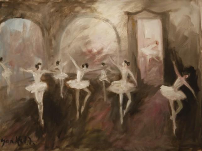 Dancers at Dusk