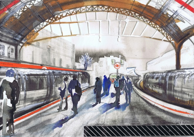 Lily Forwood, Victoria Station I, 2016