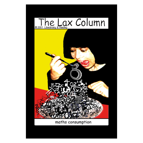 Sylvia Libedinsky, The Lax Column - maths consumption