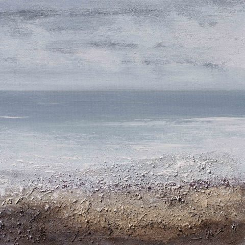 Alex Morton, Rusting of the Pebble Waves, 2017