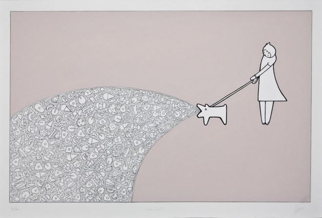 Adislen Reyes Pino, Nausea II, de La Serie Terapia - Nausea II, From The Therapy series, 2015