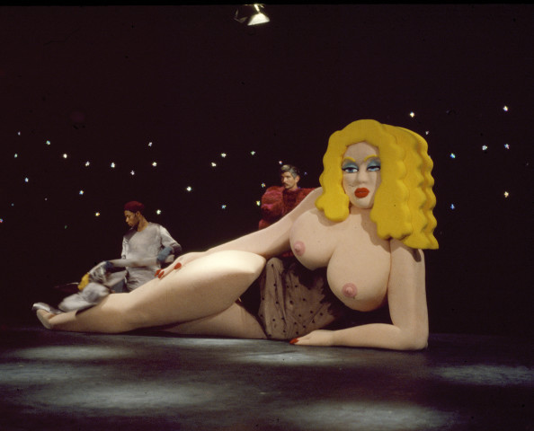 Sylvia Libedinsky, Giant Doll - by Marshmallow