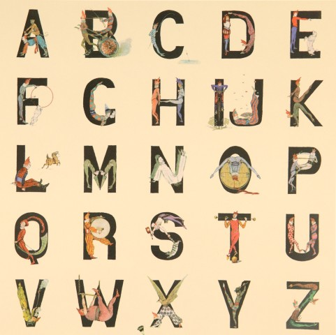 Sir Peter Blake, Appropriated Alphabet No 12., 2013
