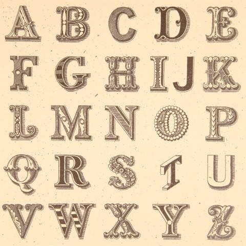 Appropriated Alphabet No.1