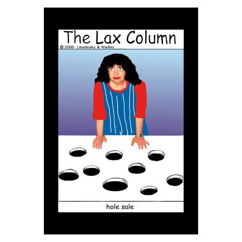 Sylvia Libedinsky, The Lax Column - hole sale