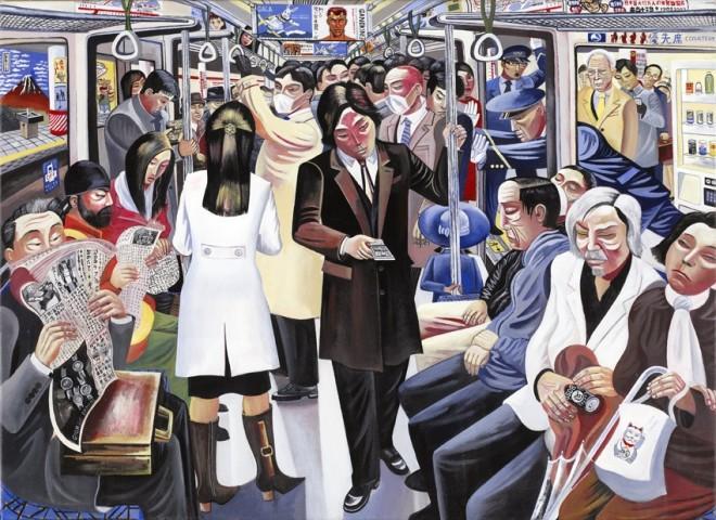 Ed Gray, Marunouchi Line, Tokyo, 2010
