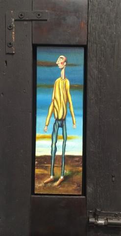 Drawer Man on Yellow Jersey