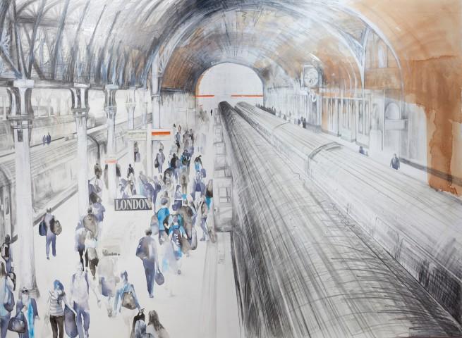 Lily Forwood, Paddington Station II, 2015
