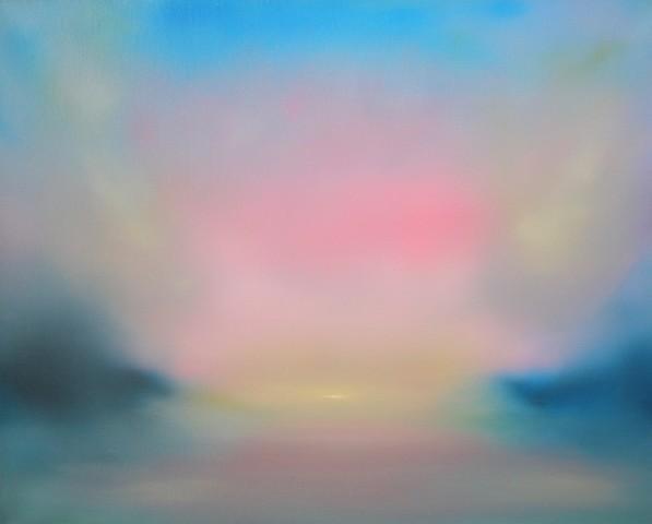 Jonathan Speed, Sunset Reflections III, 2019