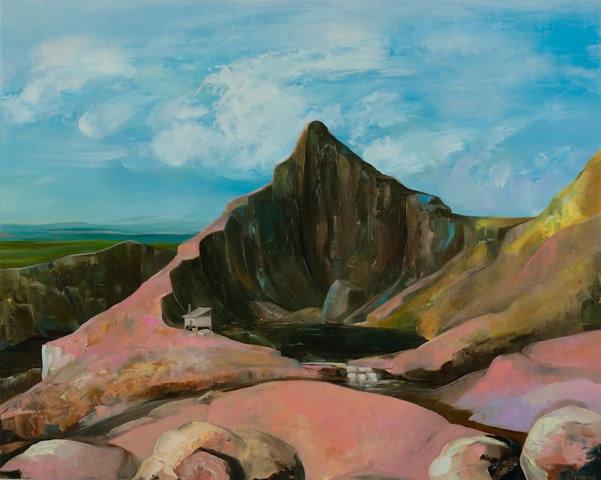 Thomas Frontini, Artist in Residence, Llyn-Y-Cau, Cader Idris, Wales, 2018