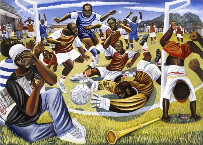Ed Gray, Gugulethu Strike, Gugulethu Township, FIFA 2010, 2010