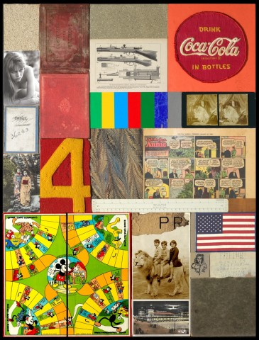Sir Peter Blake, Homage to Rauschenberg IV, 2011