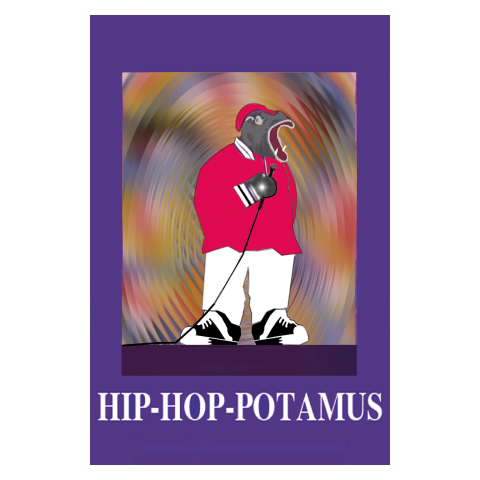 Sylvia Libedinsky, Musical Animals Series - hip-hop-potamus
