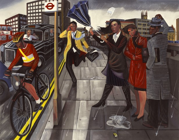 Ed Gray, London Bridge 1, 2005