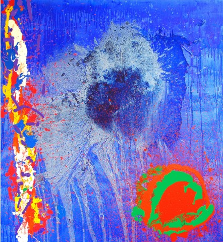 John Hoyland, Life and Love, 2010