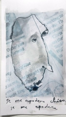 Carlos Cortes, Se me apodera chico, se me apodera, 2019