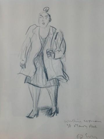 Ed Gray, Businesswoman St Mary Mary Axe, City of London, 2012