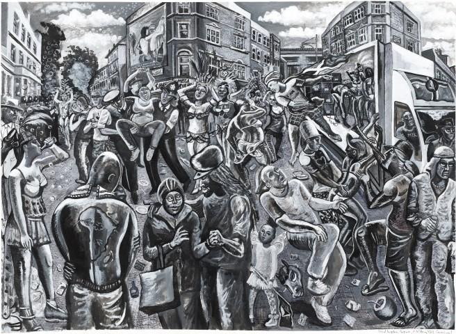 Ed Gray, Ladbroke Groovers, Notting Hill Carnival (Monochrome), 2011-12