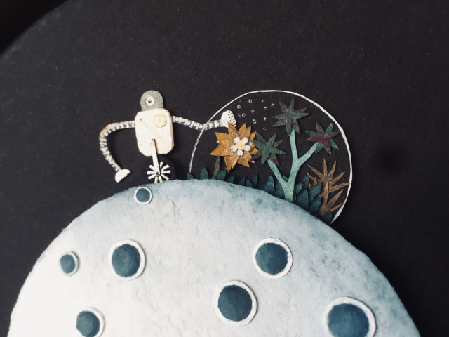Hannah Battershell, Clever Robot Loves Plant Friends, 2019