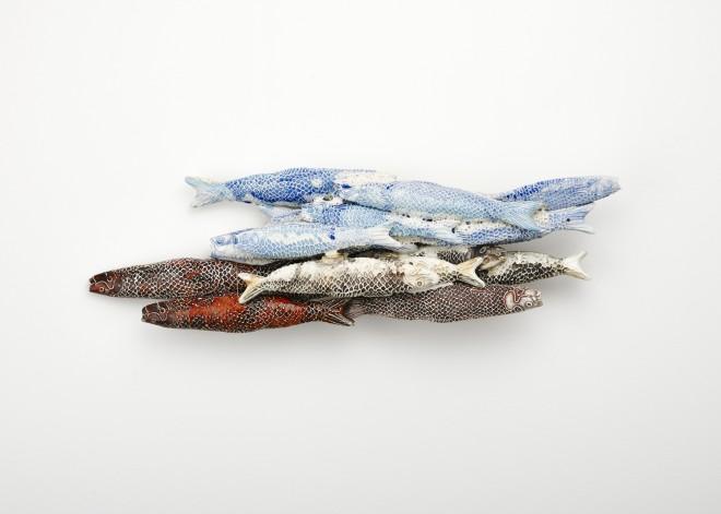 Rafael Atencia, School of Fish 2, 2015