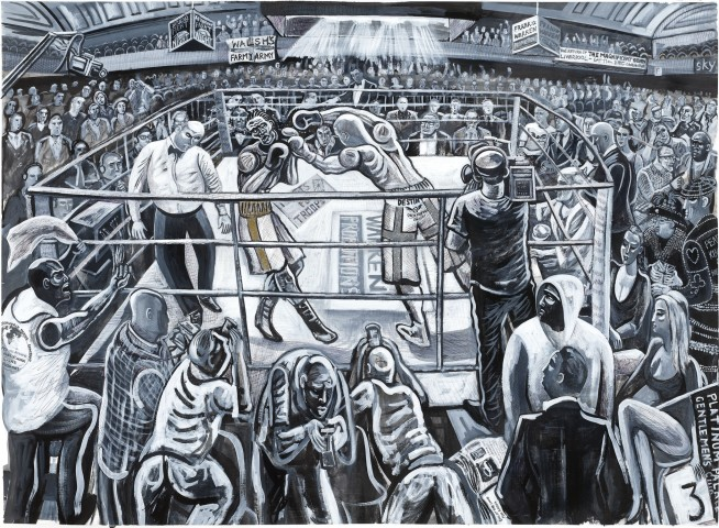 Ed Gray, York Hall Boxers, Bethnal Green, 2011