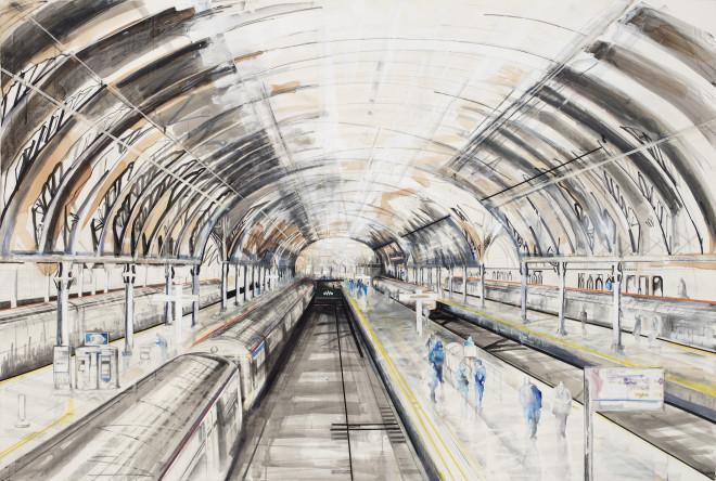 Lily Forwood, Paddington Station VI, 2017