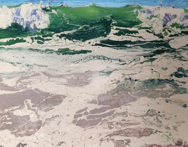 Michael Sole, Emerald Sketch, 2014