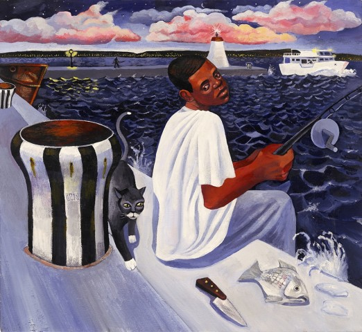 Ed Gray, Nightfishing, 2005