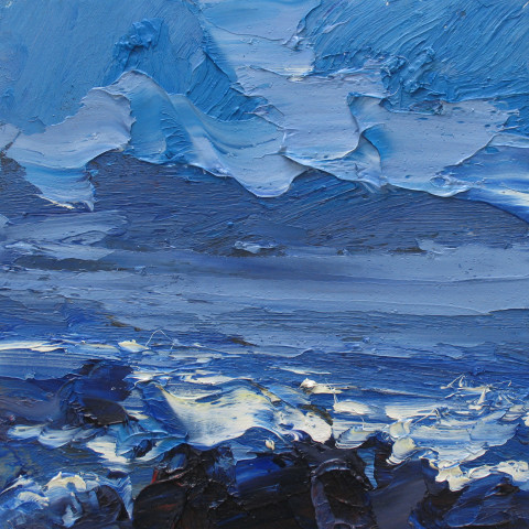 Colin Halliday, Wild Sea, 2016