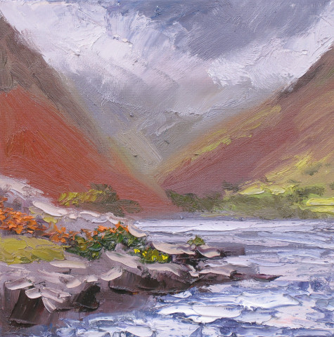 Storm over Wast Water