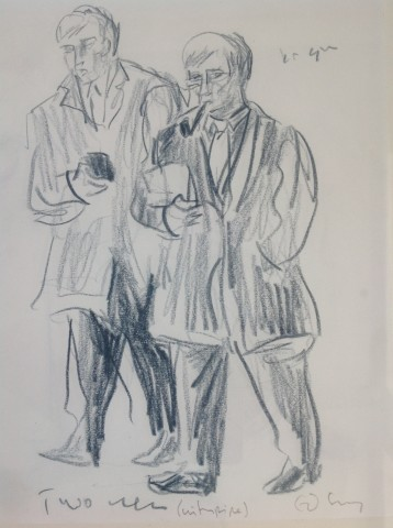 Ed Gray, Businessmen St Mary Axe, City of London, 2012