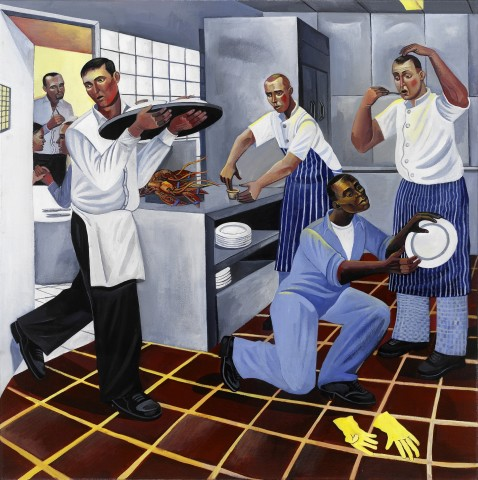 Ed Gray, Night Kitchen 1, Sonny's, Barnes, 2005