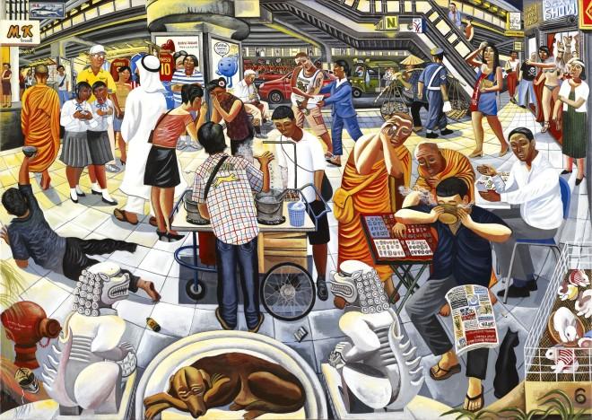 Ed Gray, Sukhumvit Market, Bangkok, 2010