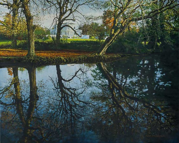 Mark McLaughlin, Autumn Reflections, Belair Park, West Dulwich, 2014