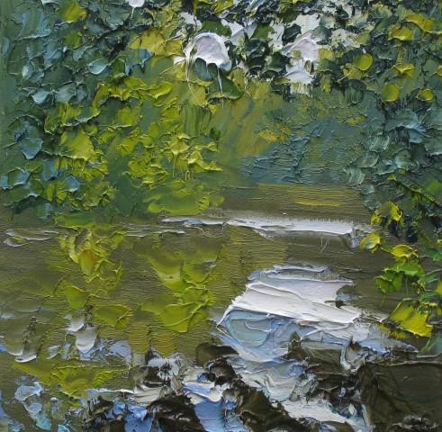 Colin Halliday, River Study II, 2016