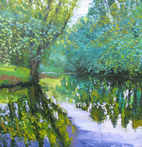 Colin Halliday, Bend in the River, 2015