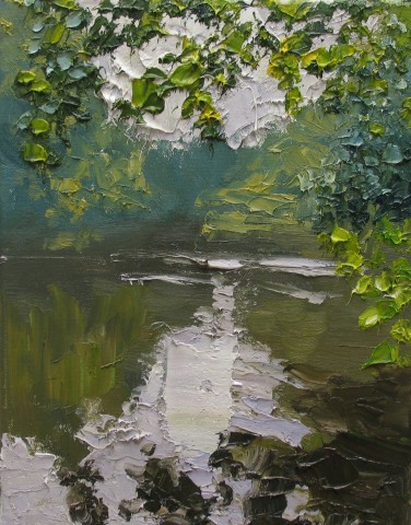Colin Halliday, River Study I, 2016