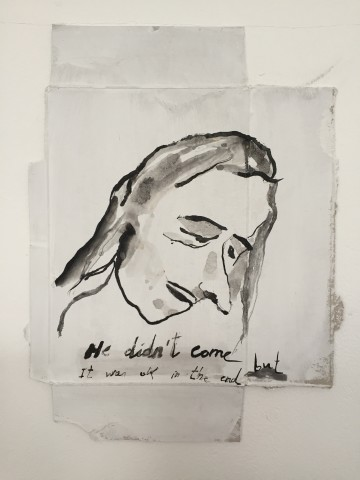 Carlos Cortes, He didn't come but it was okay in the end, 2019