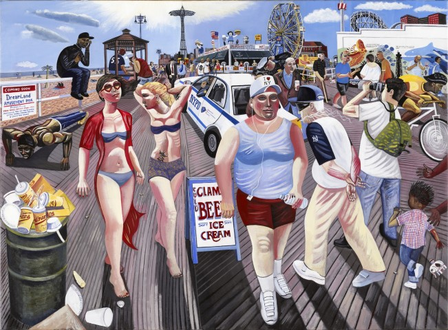 Ed Gray, Coney Island Boardwalk, New York, 2009
