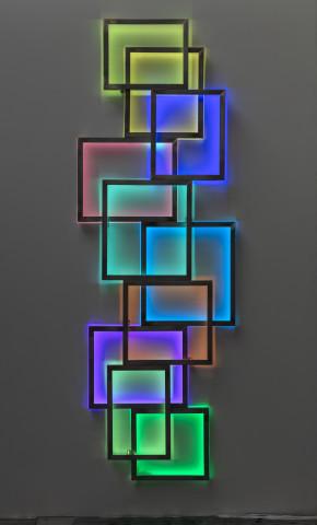 David Batchelor, Glowstick 9, 2018