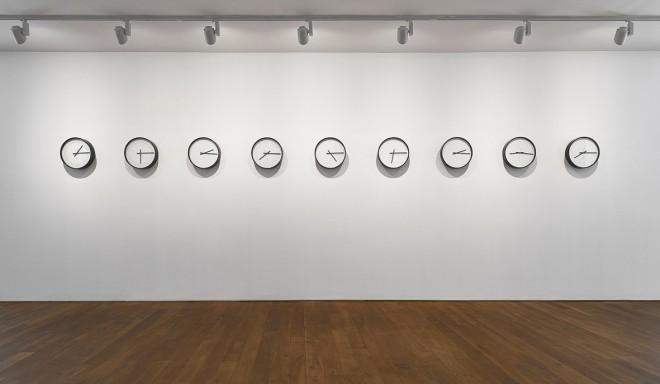 Katie Paterson, Timepieces (Solar System), 2014