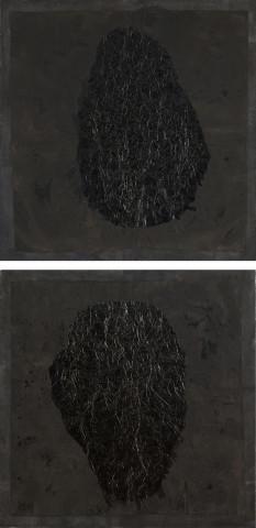 Yang Jiechang 杨诘苍, Self-Portraits 自画像, 1994
