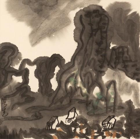Mountains of Sichuan Album No. 1 (2)蜀山册 之一(2)