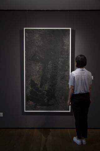 Yang Jiechang 杨诘苍, The Wind Rises as the Sun Sets 风生白下, 1984