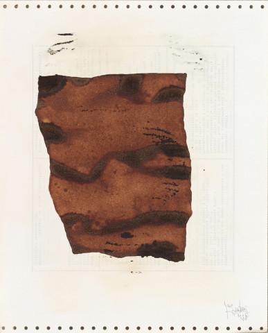 Yang Jiechang 杨诘苍, Soy Sauce Drawings 8 酱油画 8, 1988