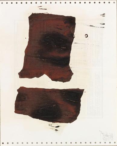 Yang Jiechang 杨诘苍, Soy Sauce Drawings 5 酱油画 5, 1988