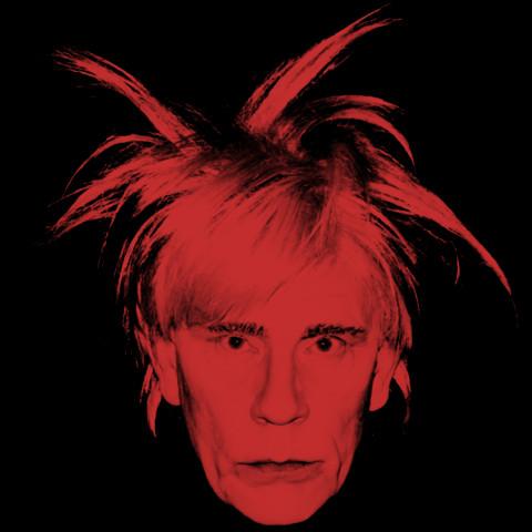 Andy Warhol / Self Portrait (Fright Wig) (1986)
