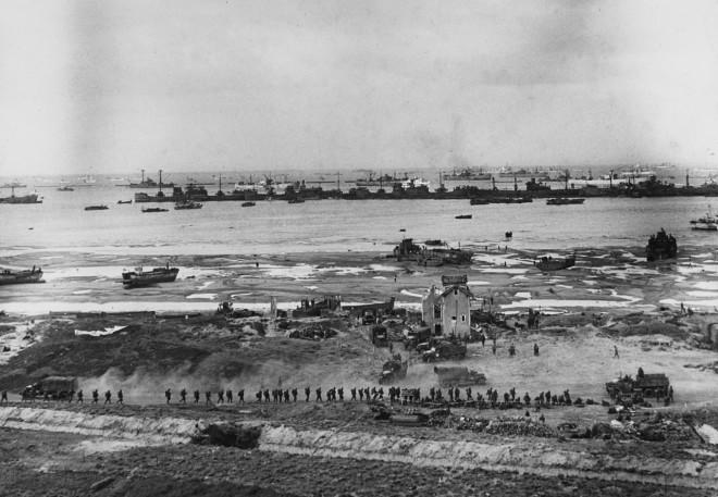 Robert Capa, Omaha Beach, Normandy, France, June, 1944