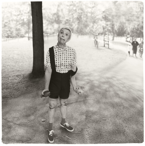 Diane Arbus / Child with a Toy Hand Grenade in Central Park, N.Y.C. (1962)
